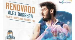 Alex Barrera y Edu Martínez se quedan en Burgos