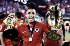 Golden Boy: Alexis Sanchez wins Copa America player of the tournament