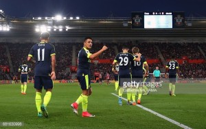 Southampton 0-2 Arsenal: Gunners shine in the second half to get the better of the Saints
