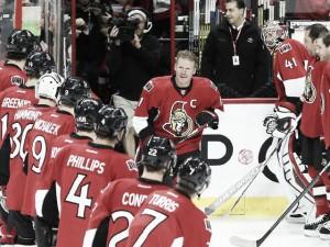 Los Senators retiran el número 11 de Alfredsson