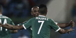 Mahrez y Bentaleb apean a los Leones de Teranga