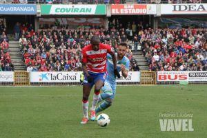 Allan Nyom marcó su segundo gol con el Granada ante el Eibar