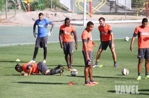 El Arabi vuelve a entrenar con el grupo