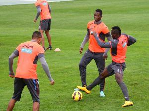 Sulayman vuelve a entrenar con el grupo