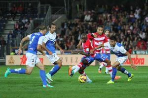 Granada CF - UD Almería: puntuaciones del Granada CF, jornada 12