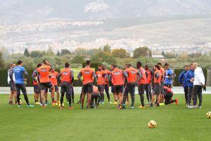 Cinco entrenamientos para preparar los partidos contra el Sevilla y la Real Sociedad