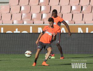 Luis Martins se reincorpora pero no completa el entrenamiento