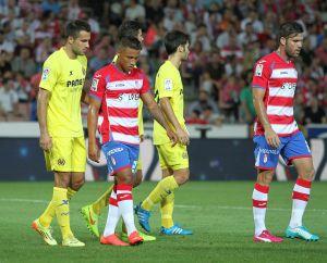 Granada y Villarreal despiertan tarde para romper el empate