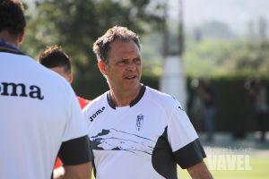 """Joaquín Caparrós: """"Estoy contento por puntuar ante un equipo magnífico"""""""