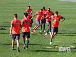 Siete entrenamientos para preparar el partido contra el Córdoba