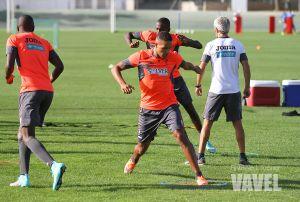 Larsson, ausente y El Arabi entrena con normalidad