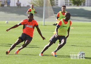 Iturra, Babin y Córdoba se unen al entrenamiento