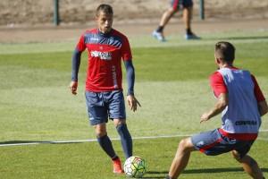 Nico López vuelve a los entrenamientos