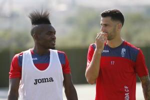 Thievy regresa a los entrenamientos del Granada CF
