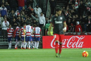 Granada CF - Athletic de Bilbao: puntuaciones del Granada CF, jornada 12