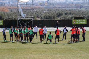 Cinco entrenamientos para preparar el partido frente al Málaga