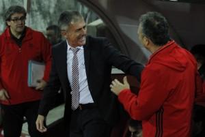 """Alcaraz: """"Hemos disfrutado de una noche de ocasiones y buen juego"""""""