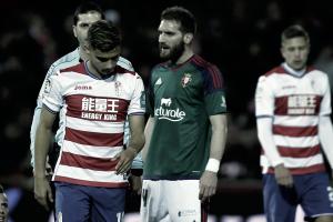 Granada CF - Osasuna, puntuaciones del Granada CF, jornada 18