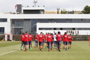 El Granada CF entrena ya en su nueva Ciudad Deportiva