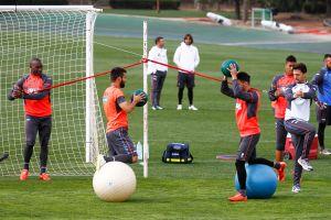 El Granada empieza el martes a preparar el partido contra el Sevilla