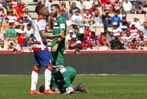 Un Granada CF sin gol que aún no logra dejar su portería a cero
