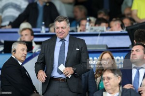 Sam Allardyce denies that he has been in talks to take over as Everton manager