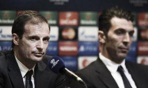 """Juve, Allegri e Buffon: """"Giocheremo la nostra partita, non vogliamo avere rimpianti"""""""