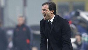 """Allegri: """"E' un traguardo importante, sono dispiaciuto per Juve e Napoli"""""""
