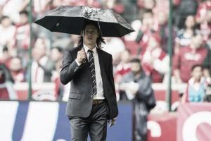 """Matías Almeyda: """"Estamos recuperando nuestro nivel futbolístico"""""""