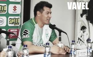 """Jorge Almirón: """"Esta bienvenida nos compromete"""""""