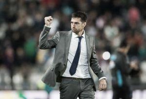 Diego Alonso se mostró satisfecho con sus canteranos