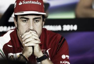 Alonso y su proyecto ciclista, en bandera roja