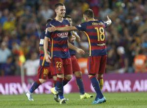 Barcellona, Vermaelen stende il Malaga