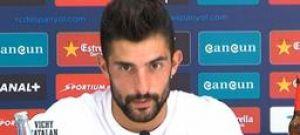 """Álvaro González: """"Jugar así tiene riesgos pero tenemos jugadores de calidad para hacerlo"""""""