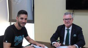 Álvaro Cejudo, nuevo jugador del Betis por tres temporadas