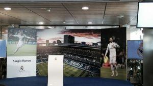 Acto de renovación de Sergio Ramos