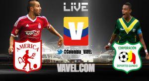 América de Cali vs Quindío en vivo y en directo online Torneo Postobón 2014