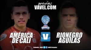 América de Cali vs. Rionegro Águilas: los 'escarlatas' quieren sacar ventaja en la ida