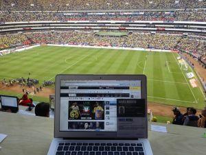 VAVEL sonríe en el Estadio Azteca