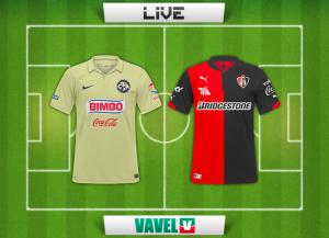 Resultado América - Atlas en Liga MX 2014 (1-2)