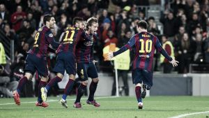 Messi inspira a un gran Barça