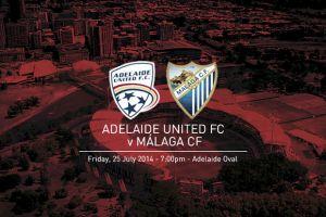 Adelaide United vs Málaga, amistoso de preparación