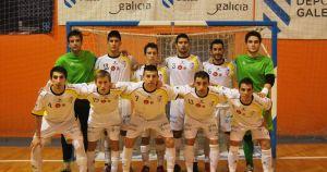 El Burela Futsal se luce en su presentación oficial ante el Santiago Futsal