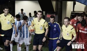 Amonestados del Málaga CF ante el Getafe CF