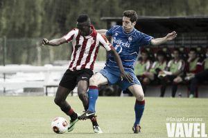 Bilbao Athletic - Amorebieta: el tren comienza su recorrido