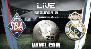 Amorebieta - Real Madrid Castilla en vivo y en directo online (1-1)