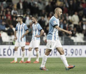 Atasco en la operación salida del Málaga