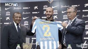 "Amrabat: ""Tuve ofertas de muchos clubes, pero quería venir a Málaga"""