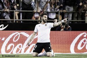 """Negredo: """"Ojalá pueda acabar mi carrera en el Valencia"""""""