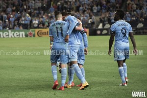 Images and photos of New York City FC 2-2 FC Dallas in MLS 2016 Week 28